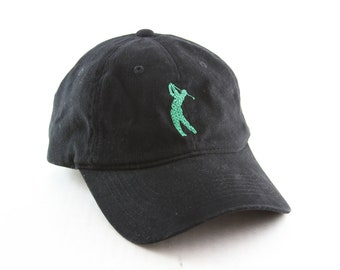 Wayne Grady Golf Baseball Cap    Embroidered Golfer Dad Hat    Black and  Green Adjustable Hat a91eec0e32a7