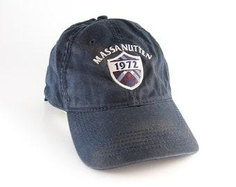 8520d8d1a78 Distressed Massanutten Virginia 1972 Dad Hat    Ski Resort Baseball Cap     Navy Blue Unstructured Adjustable Cap