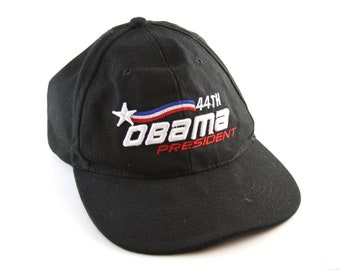 1693c659154 44th President of the United States Barack Obama Baseball Cap    44th  President Low Profile Dad Hat