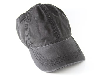4529878e3340c Plain Black Gray GAP Dad Hat with Adjustable Strapback    Classic Low  Profile Black Baseball Cap