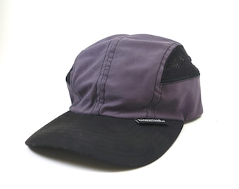 4491af0cb79 Vintage Pacific Trail Light Weight Running Hat    Ventilated Running  Baseball Cap 90s    Gray and Black