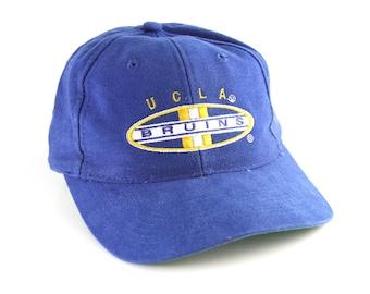 5d9935026bf Vintage 90 s UCLA Bruins Sports Specialties Snapback Hat    Vtg Blue NCAA  Baseball Cap