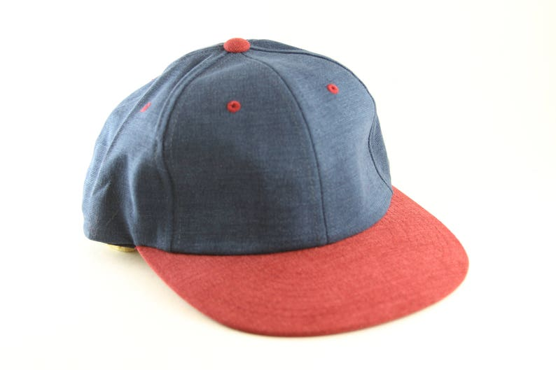 cbf985b1fa7 Plain Two Toned Blue and Purply Red Dad Hat    Classic