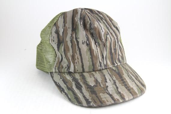 e0d8569c46a Vintage Plain Camouflage Snapback Baseball Cap    Distressed