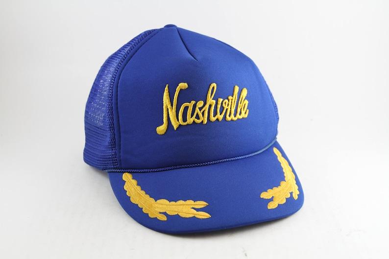 b1ea92a3201 Vintage Nashville Tennessee Trucker Style Baseball Cap