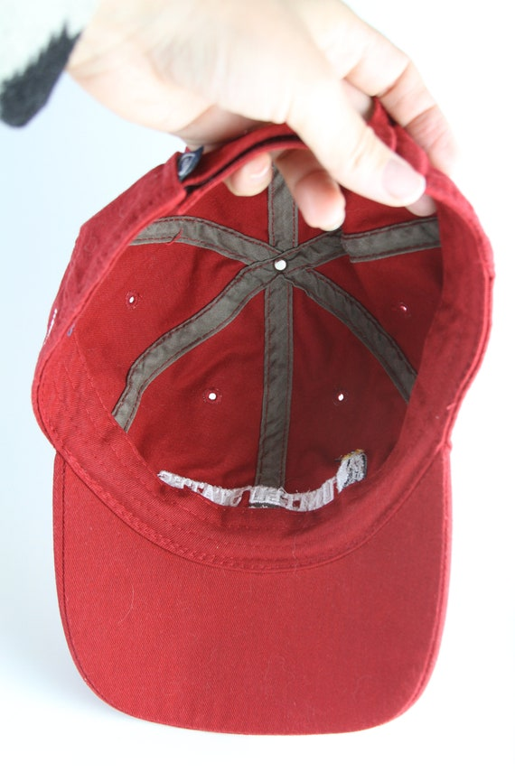 Menss Like A Boss Hat V290 Hat Blue//Red Trucker Hat