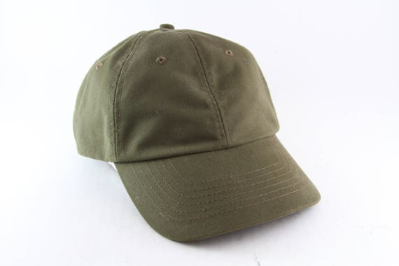 Plain Forest Green Low Profile Dad Hat    Classic Baseball Cap  a87873017ab1