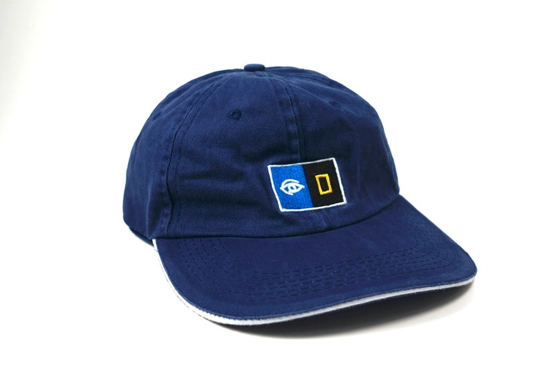 Geometric Eye Dad Hat    Navy Blue National Geographic  3959cd7e4a2