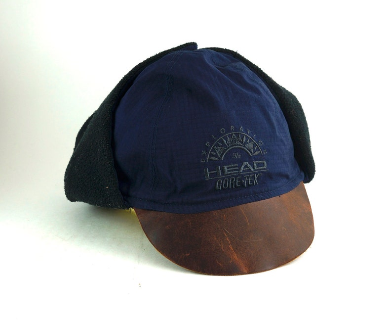 d6eb903742b Vintage Head Gore-Tex Exploration Fleece Lined Winter Cap