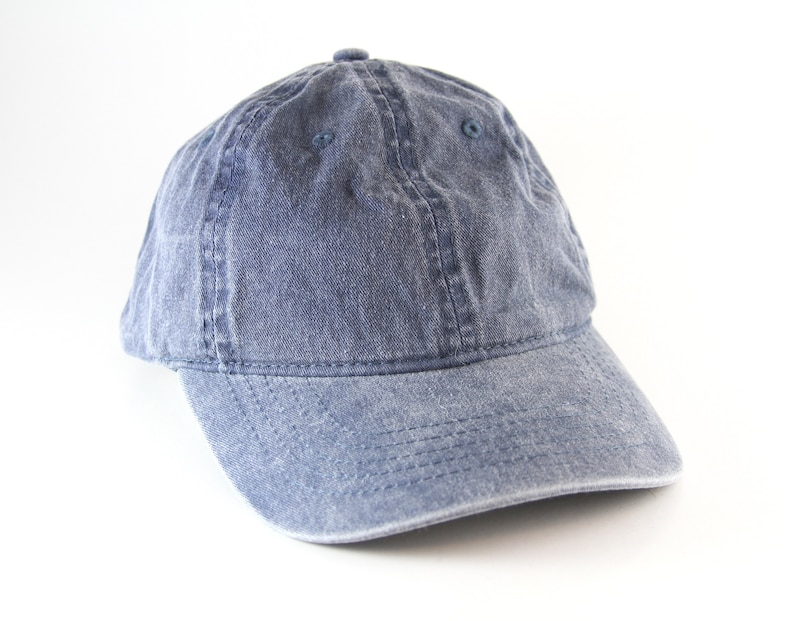 Plain Faded Blue Dad Hat with Adjustable Snapback    Low  8ac947448cea