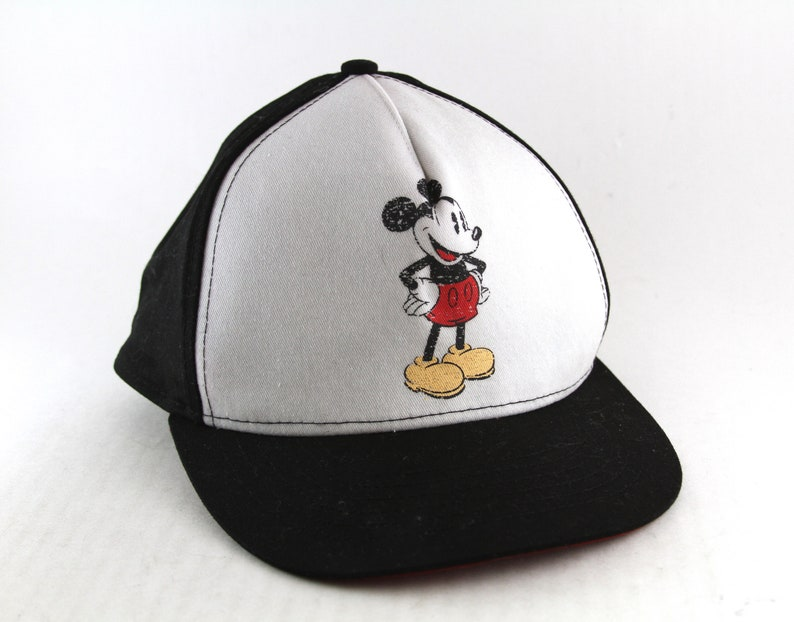 Classic Mickey Mouse Disney Trucker Style Hat    Distressed  bac86f71f32e