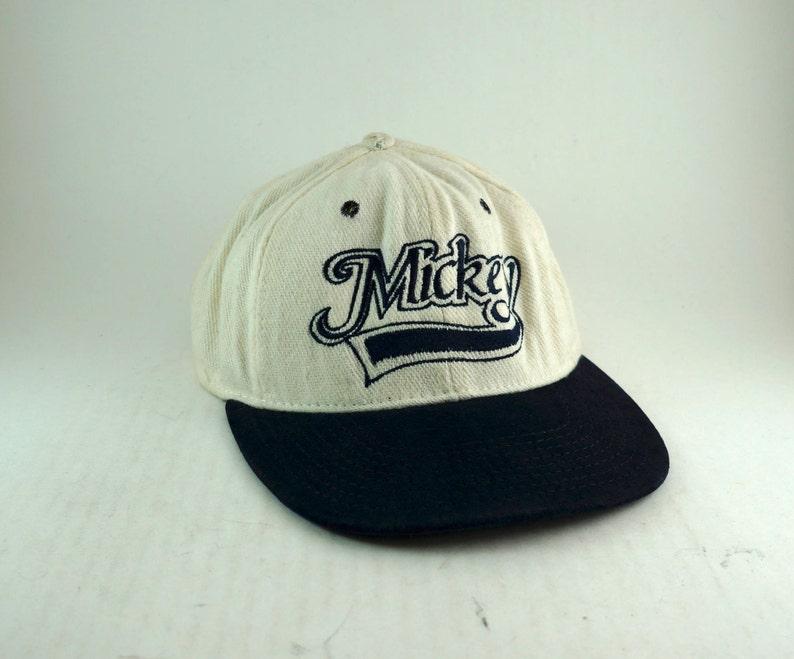 da60fd68dbd1c Vintage Mickey Mouse Mickey Two Tone Dad Hat