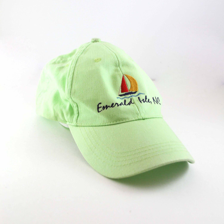 eb4be22cd10 Emerald Isle North Carolina Sailing Dad Hat    Vacation