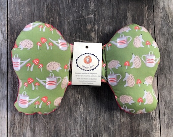 Elephant ears pillow cushion for baby head car seat gift shower birth the Sheep Roux minky red hedgehog garden
