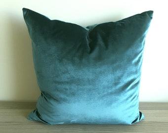 Launch SALE Emerald Velvet Pillow Cover Green Decorative Pillow Emerald Velvet Throw Pillow Emerald Velvet Cushion Green Accent Pillow