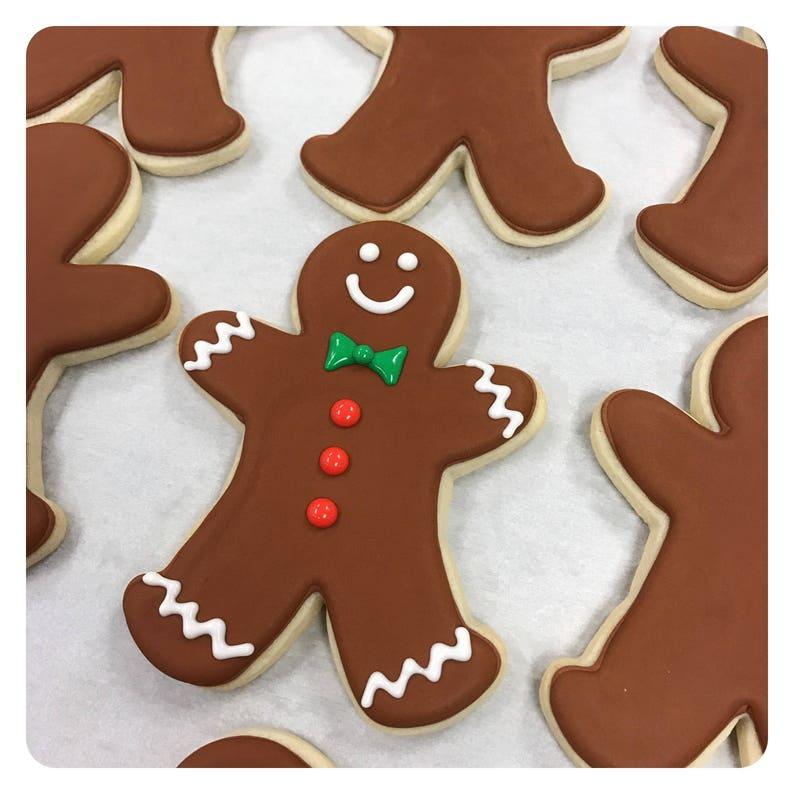 Gingerbread Men Sugar Cookies