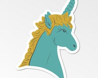 Magical Unicorn Die-Cut Sticker