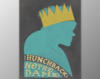 Lon Chaney's The Hunchback of Notre Dame Retro Wall Decor Mini Print
