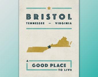 Tennessee The Volunteer State Hometown Pride Art Print
