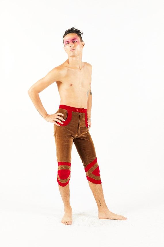 Vintage Mr Freedom Cropped Trousers - Velvet Capri