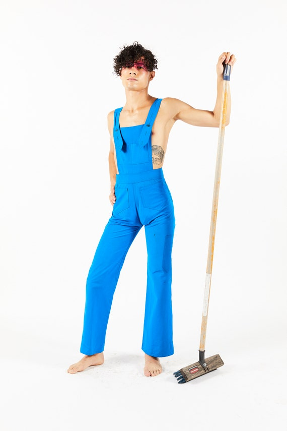 Mr Freedom Vintage Blue Overalls - 70s Jumping Jac
