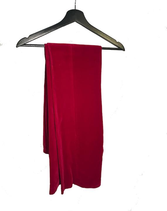 RARE 60s;70s velvet patchwork maxi skirt Granny Takes a Trip vibes rare elastic waist