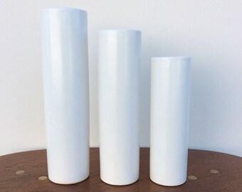 Japanese Ikebana vases (set of 3)