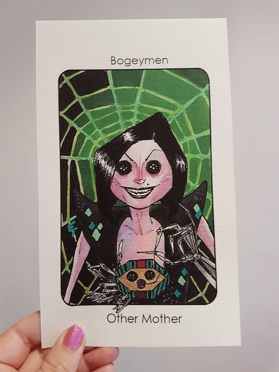 Villain Clans The Other Mother Coraline A6 A5 A4 Print On Etsy
