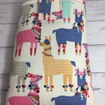 Llamas on Parade Book GoGo Book Sleeve