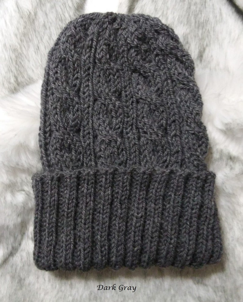 UNISEX MENS WOMANS KNIT KNITTED BEANIE RETRO COOL NASTIER