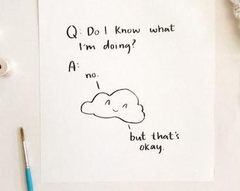 Original Painting - Cloud