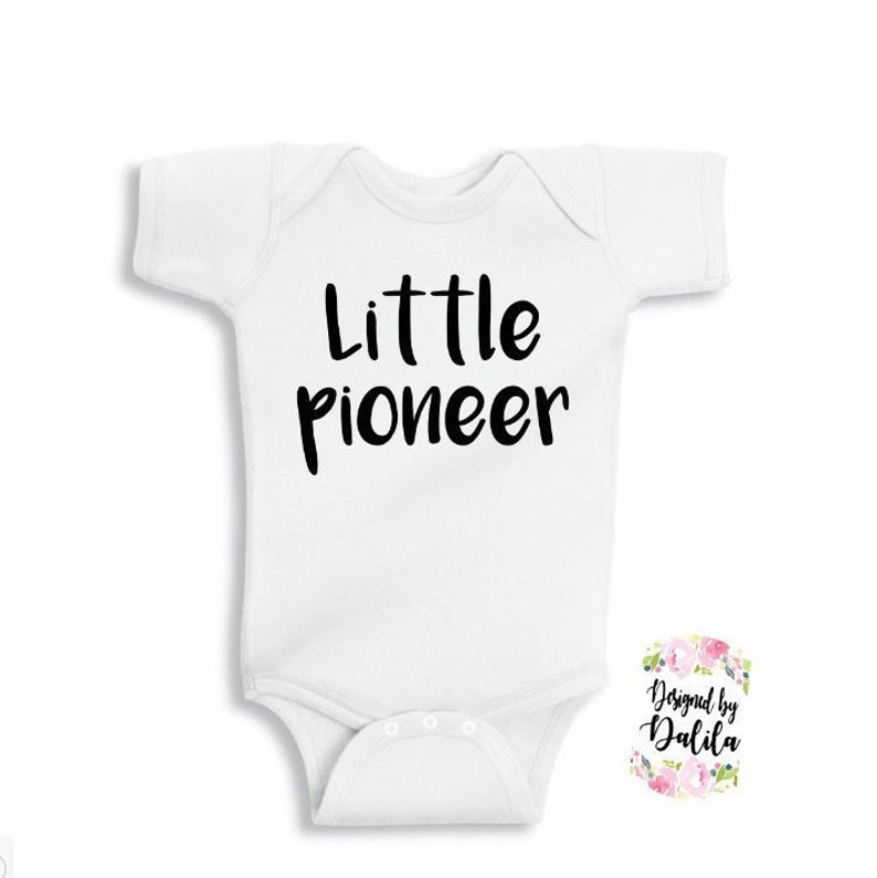 e88b0fb5c Little Pioneer Full body suit/ JW baby OOTD/ JW baby | Etsy
