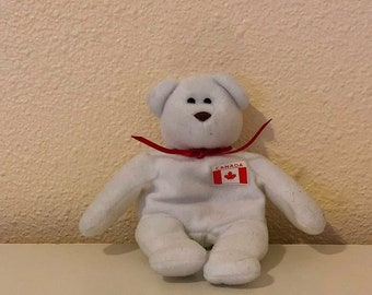 Beanie Baby Teenie Maple the Bear TY 1999 97e9630adb3