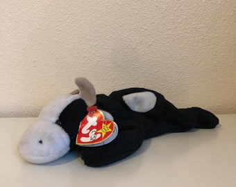 Beanie Baby Babies Daisy the Cow Damaged Hang Tag TY 1994 5cdc7fcf45b4