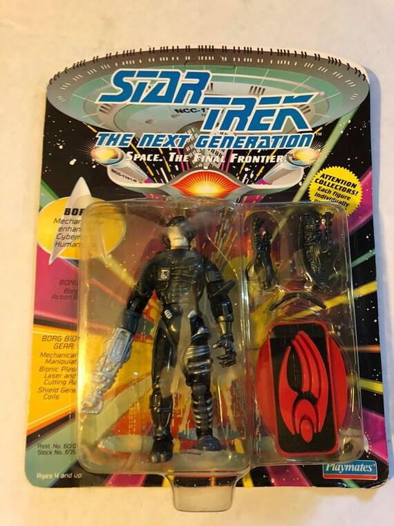 Action Figure Star Trek TNG vague 1 Borg sur carte Playmates 1992
