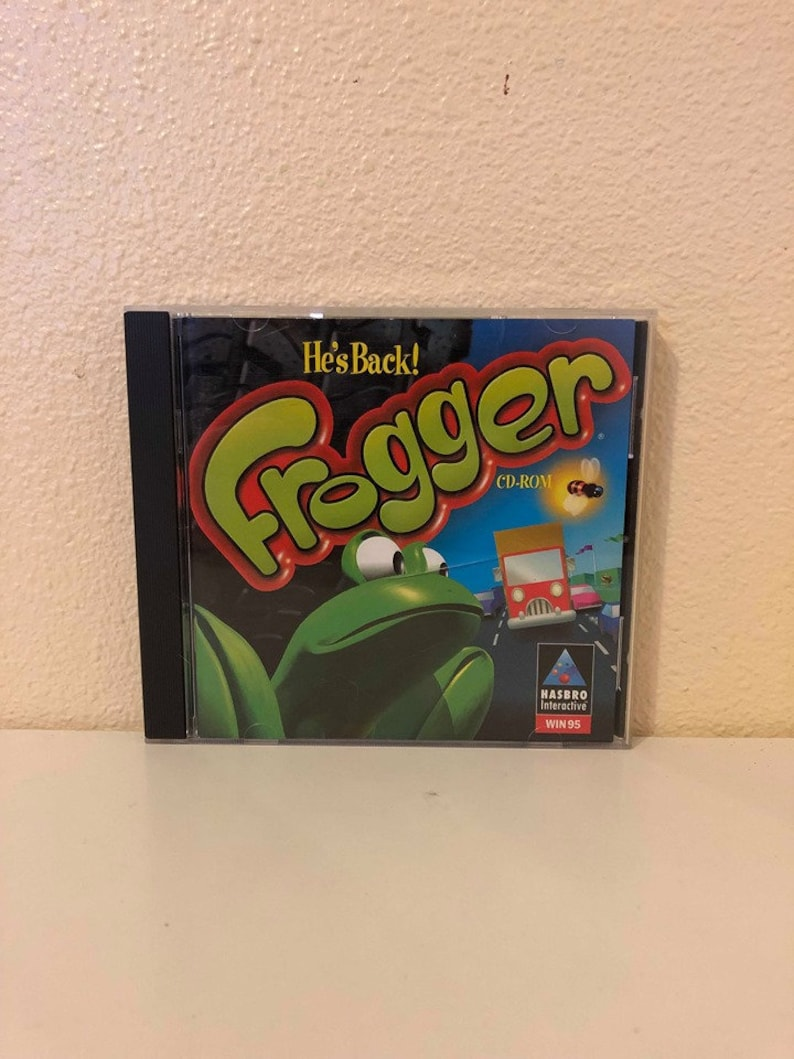 Video Game PC Frogger He/'s Back 1997
