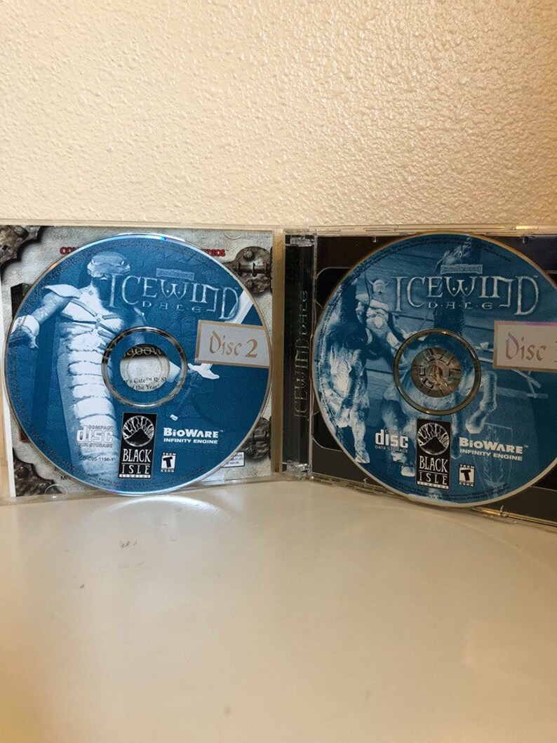 Video Game PC Dungeons Dragons Icewind Dale 2000