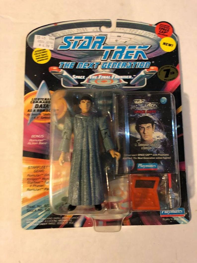 DATA as a Romulan STAR TREK TNG Loose
