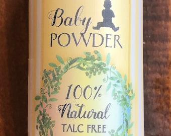 Baby Powder 100% Natural Talc Free 3 oz