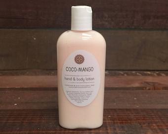 Coco-Mango Handmade Lotion - One 4oz. Bottle