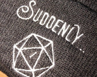 2d13399ee7b DnD Beanie - Dungeopns and Dragons