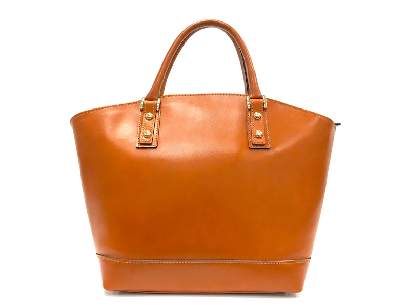 SALE Leather Bordeaux Handbag Made In Italy  f0eb8850bd37a