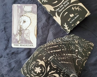 """The """"Ink Witch"""" Tarot Deck"""