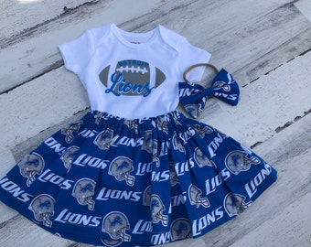 Detroit Lions Watching With Grandpa Kids Toddler T-Shirt