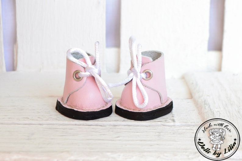 f6476655bea64 Shoes for textile dolls Shoes for dolls made of genuine leather Cute shoes  for toys Shoes for Tilda doll Textile doll boots Handmade shoes