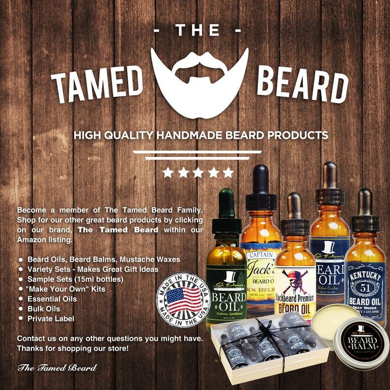 Best Beard Oil - Conditioner & Softener for Men - Cedarwood Sage - 1oz and  2oz