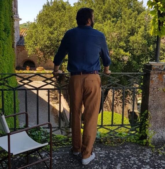 Bombachas de Gaucho, argentinische Hose, hochwertige Leinen Hose, Pampa Stil, urban coole Hose für Männer