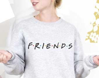 Friends TV Show Clothing Friends TV Show Sweatshirt Friends TV Show Sweater Friends tv Series Pullover Jumper for Men Women PA3029