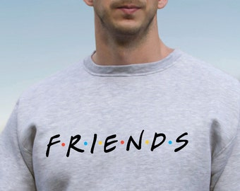 5ccce2c7408a Friends TV Show Clothing Friends TV Show Sweatshirt Friends TV Show Sweater  Friends tv Series Pullover Jumper for Men Women PA3029