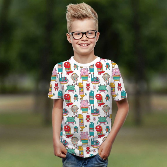 Monsters Valentines Day Tumblr Shirt Kids Family Outfit Little Etsy